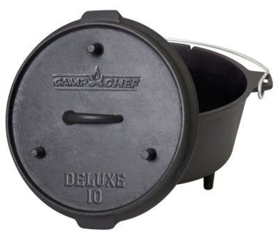 Camp Chef Deluxe 10 inch Dutch Oven 5 qt.