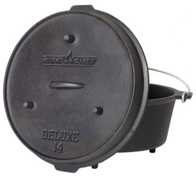 Camp Chef Deluxe 14 inch Dutch Oven 12 qt.