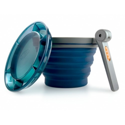 GSI Collapsible Fairshare Mug- Blue