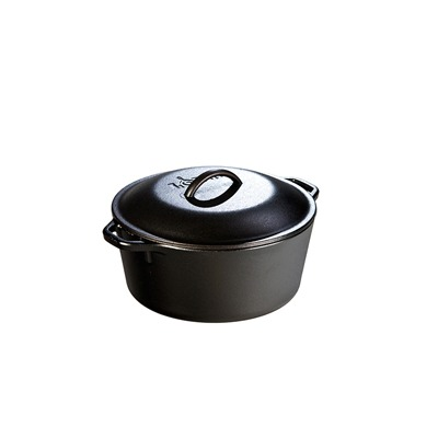 Lodge 5 Quart Cast Iron Dutch Oven