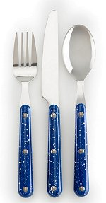 GSI Pioneer Cutlery Set 12 pc. Blue